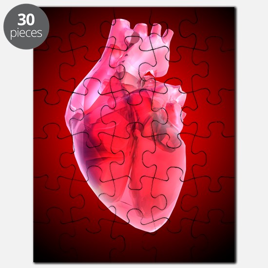 Heart of glass, artwork Puzzle