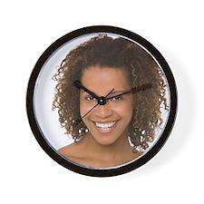 Healthy woman Wall Clock