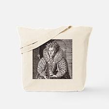Queen Elizabeth I, English monarch Tote Bag