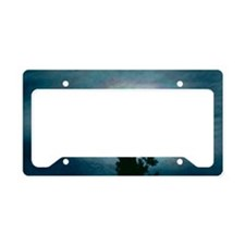 The optical effect corona aro License Plate Holder