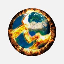 "The end of the world 3.5"" Button"
