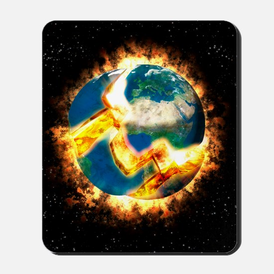 The end of the world Mousepad