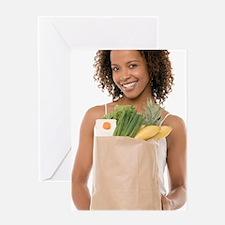 Healthy diet Greeting Card
