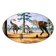 Tarbosaurus Decal