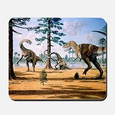 Tarbosaurus Mousepad