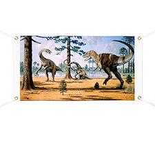 Tarbosaurus Banner