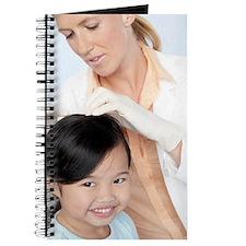 Head lice examination Journal