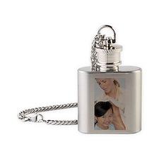Head lice examination Flask Necklace