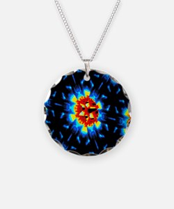 Quantum waves in topological Necklace