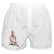 Happy senior woman Boxer Shorts