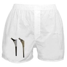 Prosthetic shafts for hip replacement Boxer Shorts