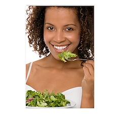 Healthy diet Postcards (Package of 8)
