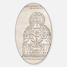 Pyhthagorean world view, 16th centu Decal