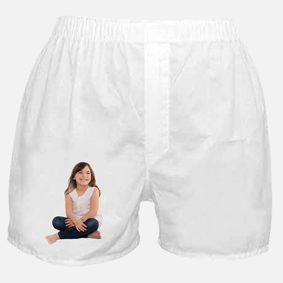 Happy girl Boxer Shorts