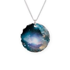 Primordial quasar, artwork Necklace