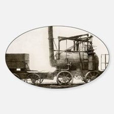 Puffing Billy locomotive Sticker (Oval)