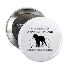 """SPINONE ITALIANO designs 2.25"""" Button"""