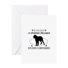SPINONE ITALIANO designs Greeting Card