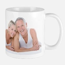 Happy senior couple Mug