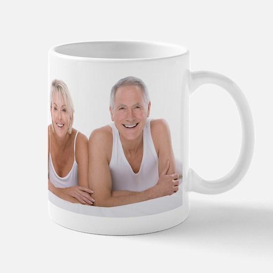 Happy senior couple Mug