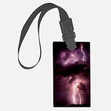 Summer lightning storm near Tusc Luggage Tag
