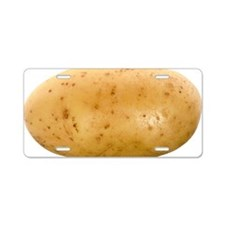 Potato Aluminum License Plate