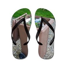 Plastic Bin for Domestic Green Waste Flip Flops