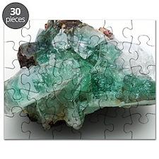Green apophyllite Puzzle