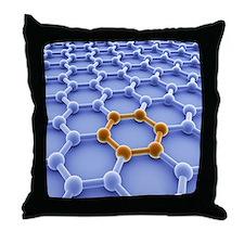 Graphene sheet Throw Pillow