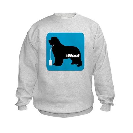 iWoof Newfoundland Kids Sweatshirt