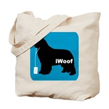 iWoof Newfoundland Tote Bag