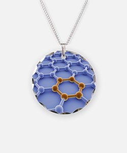 Graphene sheet Necklace