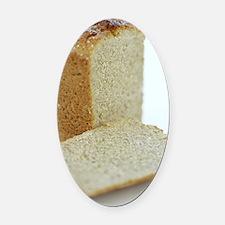 Gluten-free bread Oval Car Magnet
