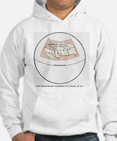 Strabo's map from 18 AD Hoodie