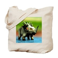Styracosaurus dinosaur Tote Bag
