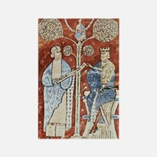 Pliny the Elder and the Emperor T Rectangle Magnet
