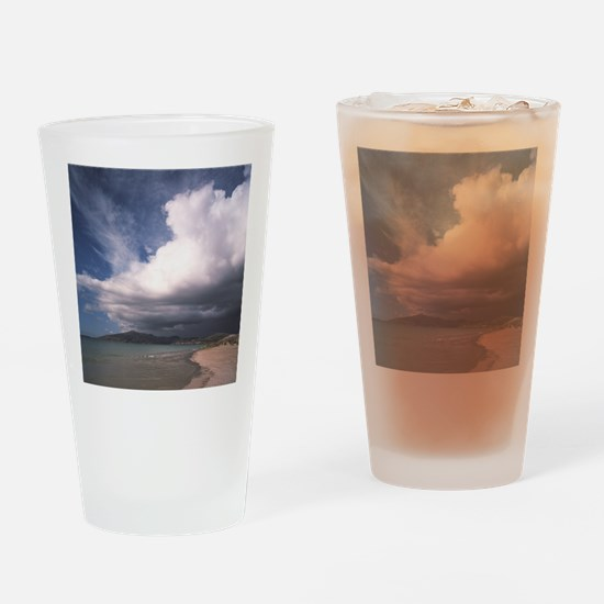 Storm clouds Drinking Glass
