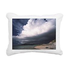 Storm clouds Rectangular Canvas Pillow