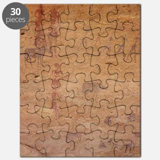 Pictograph of walking figures Puzzle