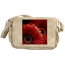 Gerbera flowers Messenger Bag