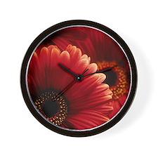 Gerbera flowers Wall Clock