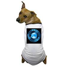 Global communications, conceptual artw Dog T-Shirt