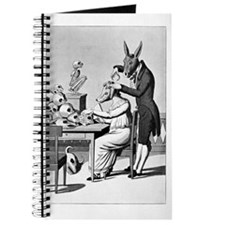 Phrenology, satirical artwork Journal
