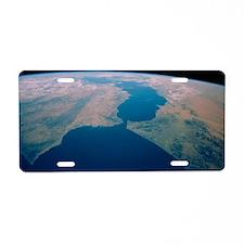 Strait of Gibraltar from Sp Aluminum License Plate
