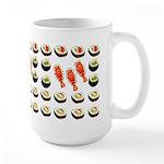 Sushi Platter Large Mug