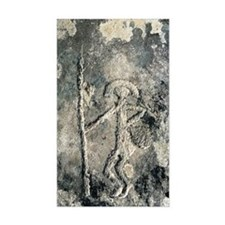 Stone Age rock carving Decal