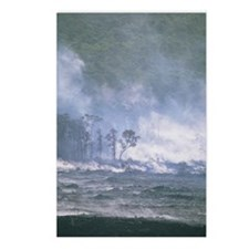 Steam from Kilauea volcan Postcards (Package of 8)