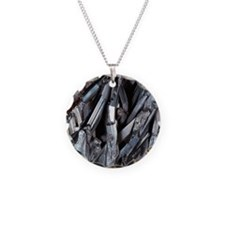 Stibnite crystals Necklace