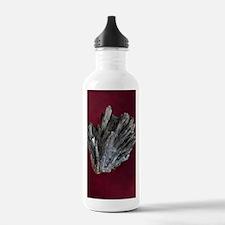 Stibnite crystals Water Bottle