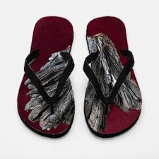 Stibnite crystals Flip Flops